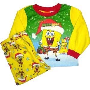 Nickelodeon Spongebob Pajama Set 2 Piece 24M Baby